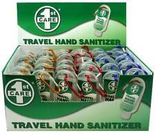 36 x TRAVEL HAND SANITISER 53ml CLEANSER GEL CLIP CAMPING SANITIZER SHOP BNIB