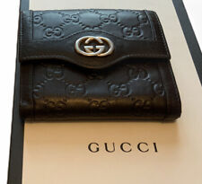 Gucci Mens Double G Bifold  Wallet  Boxed Made In Italy