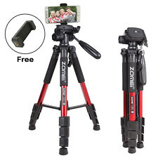 Zomei Q111 Aluminium Protable Travel Tripod with Pan Head Stand for DSLR Camera
