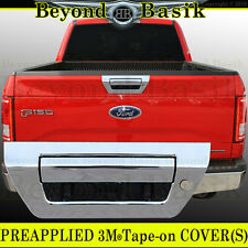 2015 2016 2017 2018 F150 Chrome Tailgate Handle COVER W/Out Camera Hole, W/Keyho