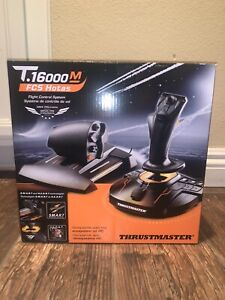 Thrustmaster T.16000M FCS Hotas Flight Stick & Throttle ⚡️In Hand Ships Now⚡️