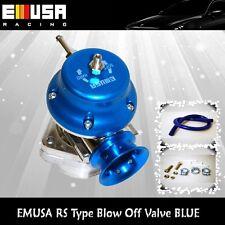 EMUSA Universal Blow Off Valve BOV Honda Accord Civic CRX Del Sol Prelude BLUE