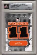 MARK RECCHI 11/12 ITG Ultimate Number Dual Jersey #d /24 SP Philadelphia Flyers