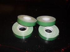 "Lot of FOUR (4) rolls of green Florist Tape 1/2""x 30 ft.  New and Unused- DEAL!"