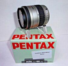 Pentax 28 - 80mm F3.5 - 5.6 SMC FA AF Lens Boxed