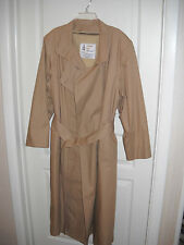 Ladies London Fog Trench Coat - Size: 14 Petite -Tan - Maincoats - With liner