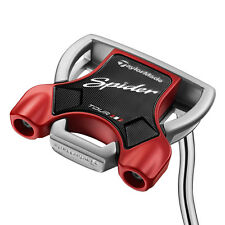 "New LH TaylorMade Spider Tour Platinum 34"" Putter 34 inch Lined Putter"