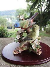 Vintage 2000 Homco Figurine Masterpiece Porcelain 11905-00 Morning Encounter