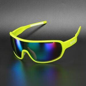 EOC Polarized Cycling Glasses Bike Goggles Driving Fishing Sunglasses 3 Len 810G