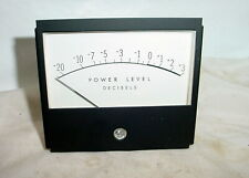 McIntosh MC2505 Amplifier Power Lever Meter UV works excellent (2 available)
