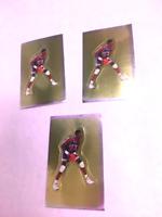 (3) 1991 Panini Sticker Patrick Ewing Cards
