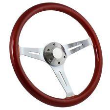 """NEW WHEEL! 1960 -1969 Chevy C10 Pick Up Truck 15"""" Steering Wheel + Boss Kit"""
