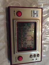 Nintendo Game & Watch Wide Screen Chef FP-24 1981 Free Shipping!