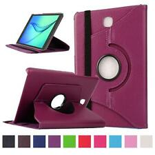 360 Rotate Flip Stand Leather Case Cover Skin For Samsung Galaxy T280 T550 T810