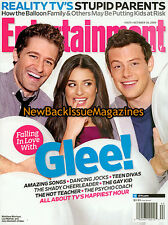 Entertainment Weekly 10/09,Lea Michele,Jane Lynch,October 2009,NEW