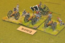 25mm ACW / confederate - 3 guns & crews - art (40102)