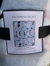 victorias secret sherpa blanket Nwt Pink Soft Smoke Free Home