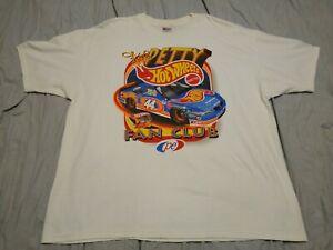 VINTAGE KYLE PETTY NASCAR FAN CLUB HOT WHEELS SIZE 2XL XXL XX-LARGE T-SHIRT