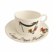 Retirement Gift Fine Bone China Cup and Saucer Set