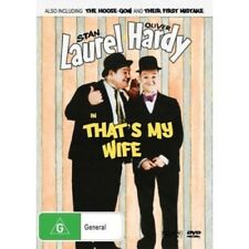 Laurel and Hardy in That's my Wife Dvd ( Free Post Brand New)