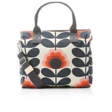 Orla Kiely Summer Flower Stem Zip Messenger Bag Sunset