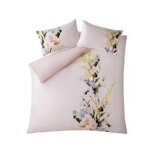 john lewis duvet cover king size Cotton Sateen Ted Baker Elegance Pink Floral