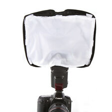 Universal Foldable Diffuser Pocket Bag f Speedlite Reflector Flash Light Softbox