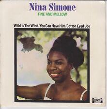 NINA SIMONE Fine and mellow Colpix PXE 303