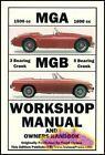 MGB MGA SHOP MANUAL REPAIR BOOK CLYMER SERVICE WORKSHOP GUIDE MG GT 1956-1976