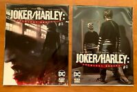 JOKER HARLEY CRIMINAL SANITY 2 Mattina Main Cvr + Mayhew Variant DC 2020 NM+