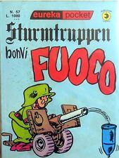 EUREKA POCKET STURMTRUPPEN N.57 CORNO BONVI 1979 FUMETTO