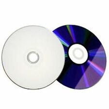 100 x DVD-R WHITE TOP BLANK DVD-R FULL FACE 16x Media 4.7GB 120 MINS RECORDABLE