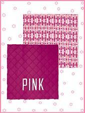 RARE ❤ NEW Victoria Secret Pink BERRY IKAT Full Queen REVERSIBLE COMFORTER DORM