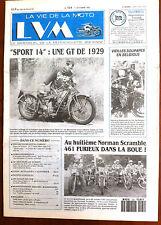 LVM - La Vie de la Moto n°124 du 1/10/1993; Essai Moto Guzzy Sport 14/ Norman Sc