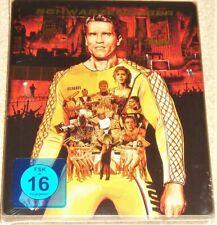 The Running Man Steelbook (Uncut) Blu Ray / Import / WORLDWIDE SHIPPING