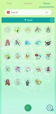 Pokemon Home Complete set of Gen 1-7 Mythical (24 Pokemon)