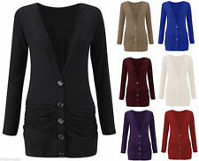 Unbranded Casual Hip Length Button Coats & Jackets for Women