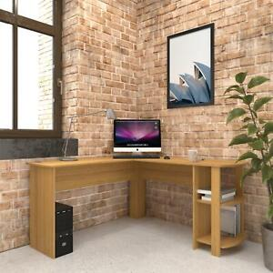 Large Corner Desk with shelves for Home Office - Piranha Furniture Pacu