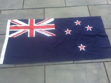More details for  vintage linen new zealand flag 6 x 3 feet national flag kiwi nation country