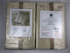 Martha Stewart Veranda Vines Set of 2 Euro Pillow Sham, Ivory - Msrp $280