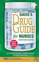 Davis's Drug Guide for Nurses by Vallerand, April Hazard Book The Fast Free