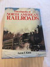 1986 ENCYCLOPEDIA OF NORTH AMERICAN RAILROADS KLEIN VINTAGE TRAIN PHOTOGRAPHS
