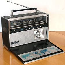 Sony Earth-Orbiter CRF-5100 10-band transistor radio transoceanic AM FM SW Japan