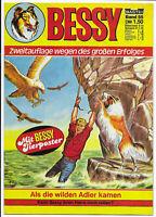 Bessy Nr.55 von 1978 mit Poster - TOP Z1 Comicheft Bastei Zweitauflage