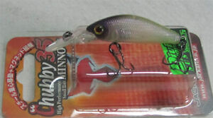 JACKALL BROS DIVING CHUBBY MINNOW 35 SP / 2 colors