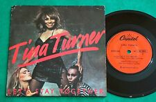 """Tina Turner - Let's Stay Together BRAZIL ONLY PS 7"""" Single 1983 Capitol"""