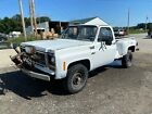 1978 Chevrolet C20/K20 plow truck 1978 Chevy Square K20 Pickup 4X4 4 Speed 8 Foot Step Side low miles & TITLE WOW