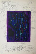 Alfred Manessier: Les cantiques III, 1958 (1) (handsigniert)