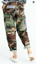 Atelier & Repair Women's Camoflash Cargo  Pants (M) $ 198