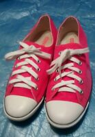 Vintage CONVERSE All Star Chuck Taylor Red Low Tops Women's 7.